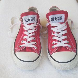 Converse All Star Lo Top Unisex Sneakers Red